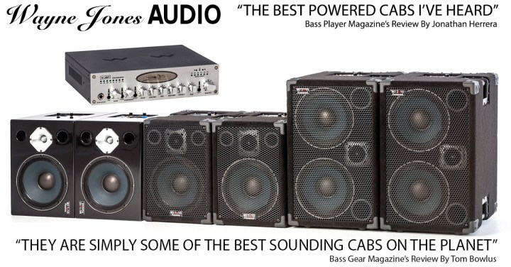Wayne Jones AUDIO - High Powered, High End Bass Cabinets, Stereo Valve Pre-Amp & Hi Fi Studio Monitors