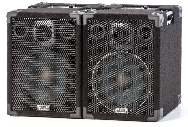 Wayne Jones Audio - 1000 Watt 1x10 Stereo/Mono Bass Cabinets