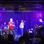 Spyro Gyra @ Bird's Basement jazz club in Melbourne. Bass player  Scott Ambush was using the house WJ 2x10 1000 Watt cabinet .