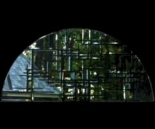 Contemporary Beveled Stained Glass Window Richmond VA Cain Art Glass, All Rights Reserved