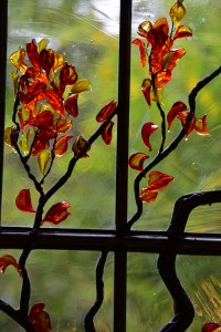 Contemporary Stained Glass Window Art Glass  (2)