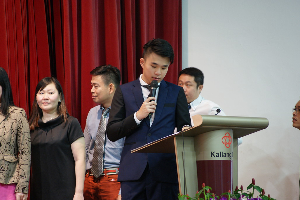 professional event hosting by wayne emcee singapore