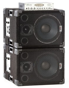 Wayne Jones Audio - 1x10 pair stacked with pre amp