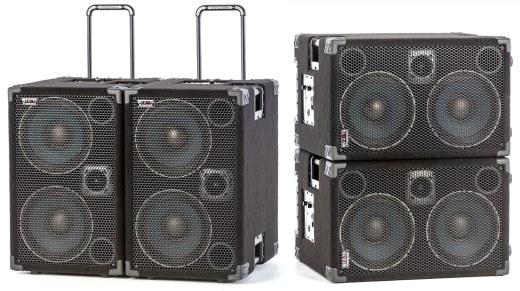 Wayne Jones Audio - 1000 Watt 2x10 Powered Bass Cabinets