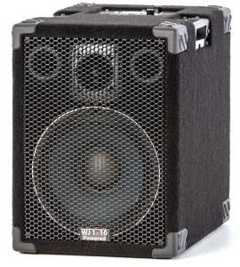 Wayne Jones Audio - 1000 Watt 1x10 Powered Bass Cabinet for guitar players. Guitar amp/powered guitar speaker .