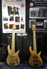 Wayne Jones AUDIO bass rig - Custom Fodera Monarch 6 and Fodera Monach 5 Deluxe bass guitars