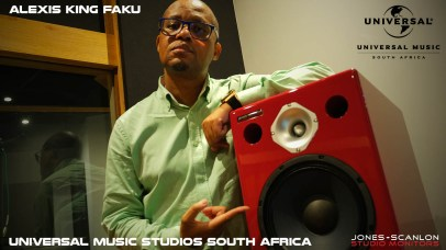ALEXIS KING FAKU - Producer and Mixing Engineer, Universal Music studios South Africa