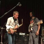 David Sanborn & André Berry (Wayne Jones AUDIO endorsee). Blue Note, Nagoya, October 18 2015