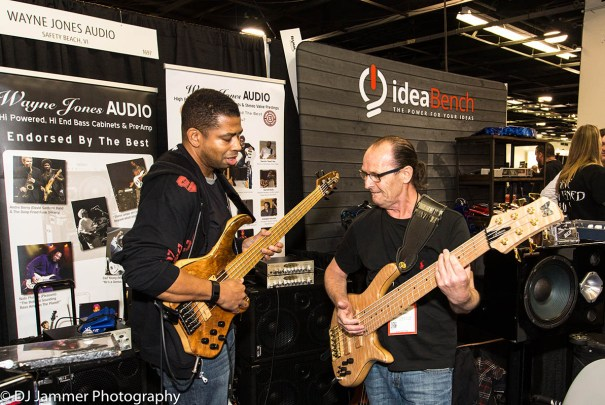 David Dyson and Wayne Jones NAMM 2017