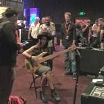 Fodera custom bass being played through a Wayne Jones AUDIO bass rig @ Bass Player LIVE! 2015