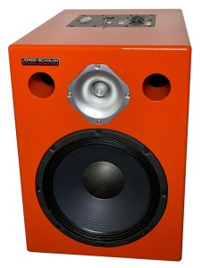 Jones-Scanlon recording studio monitors - audio mastering