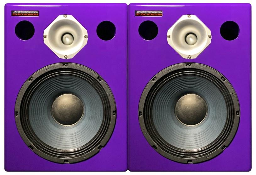 Jones-Scanlon recording studio monitors - audio engineering