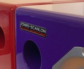 Jones-Scanlon recording studio monitors - film post production