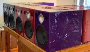 Jones-Scanlon recording studio monitors - sound mixing