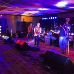 Bass guitar speakers provided by Wayne Jones AUDIO  on main stage at Nashville Music Gear Expo 2015