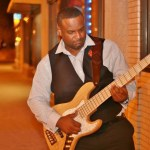 Bass player Maurice Fitzgerald