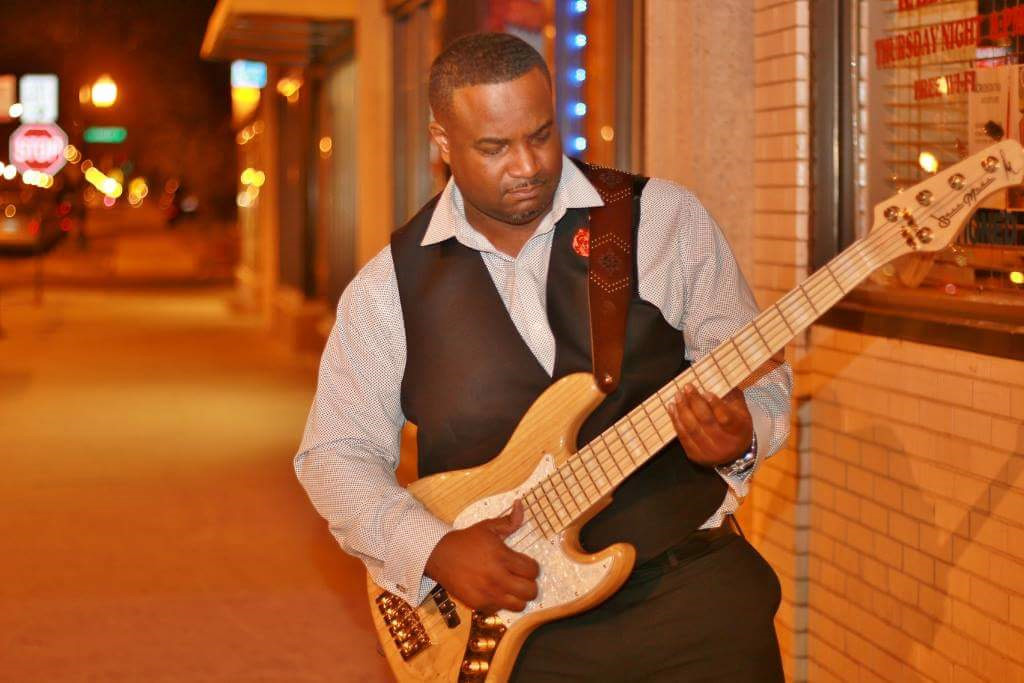 Bass player Maurice Fitzgerald uses a Wayne Jones AUDIO bass rig