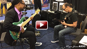 Nate Phillips & Wayne Jones Jam at Wayne Jones Audio NAMM 2016 Booth