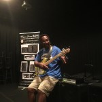 Wayne Jones AUDIO endorsee Nathaniel Phillips - bass guitarist