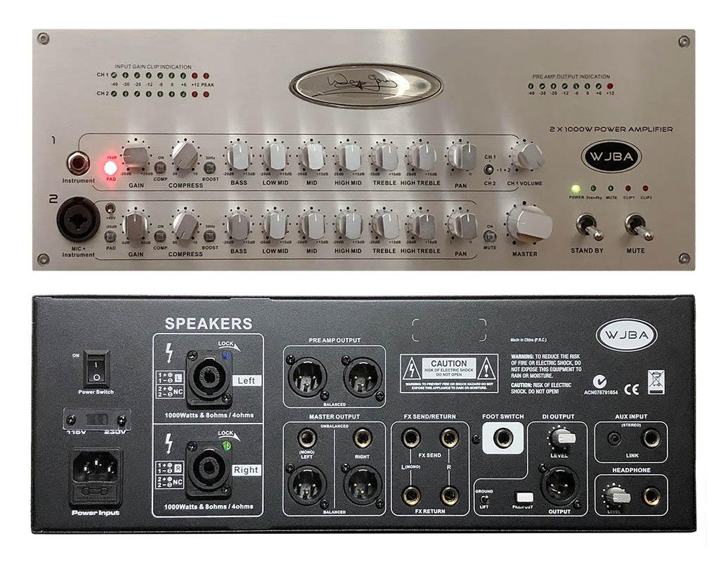 Reviews Industry Wayne Jones Audio 500w Power Amplifier Circuit Diagrams 2000 Watt Wjba Bass Guitar With Built In Twin Channel Pre Amp
