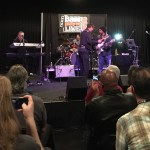 Andre Berry & George Johnson's clinic & tribute to Louis Johnson @ Bass Player LIVE! 2015 - Wayne Jones AUDIO  bass rig on stage