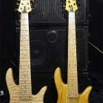 Wayne Jones AUDIO bass rig - Custom Fodera Monarch Elite 6 and Fodera Monach 5 Deluxe bass guitars