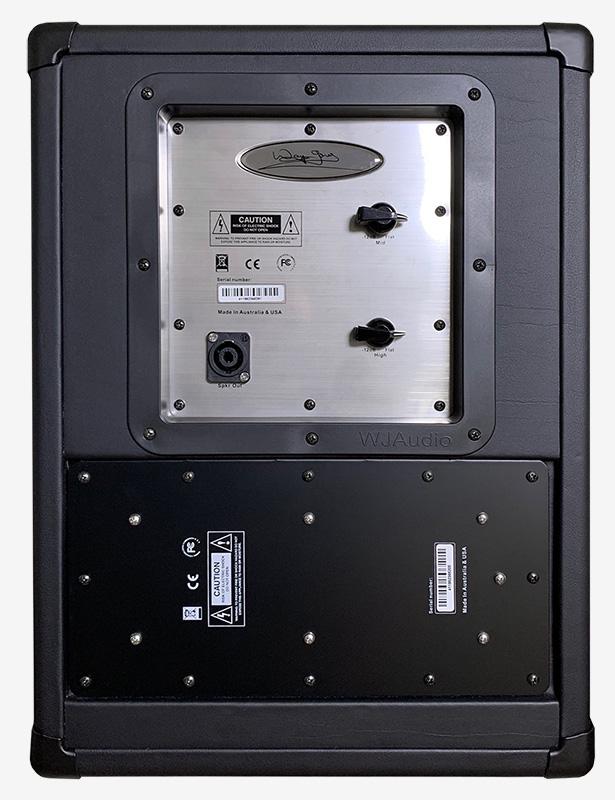 Wayne Jones Audio - 1x10 Stereo/Mono Guitar Speaker Cabinet - Passive Control Panel