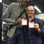 Wayne Pryor and Wayne Jones at NAMM 2016.