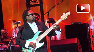 Bassist Nate Phillips performing with Richard Elliot aboard Smooth Jazz Cruise 2016. Nate is using: WJBP Stereo Valve Bass Pre-Amp, 2 x 1000 Watt WJ 2x10 Powered Bass Cabinets (2000 Watts)