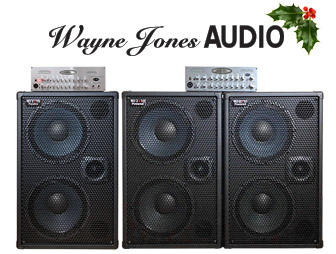 Bass Player Magazine news item of Wayne Jones Audio holiday season discounts and new products.