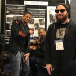 Wayne Jones AUDIO endorsee David Dyson along with friends - NAMM 2017