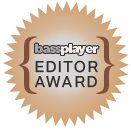 Bass Player Magazine editor award for Wayne Jones Audio bass guitar speaker cabinets - July 2015 issue
