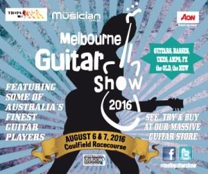 Melbourne Guitar Show 2016