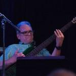 Bassist Rob Little @ Bird's Basement jazz club in Melbourne