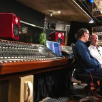Wayne Jones and Steve Scanlon discussing the Jones-Scanlon Studio Monitors.