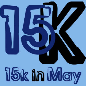 2 Weeks gone in the 15k in May writing challenge