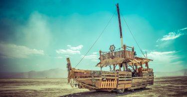 The Dusty Junk Art Car