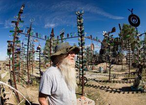 Elmer, Creator of the Bottle Tree Ranch