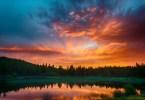 Roche Lake Sunset