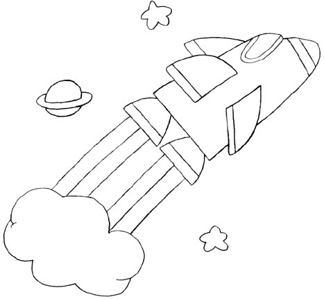 wayne schmidt 39 s free space ship coloring page