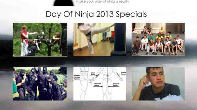 Day Of Ninja Specials