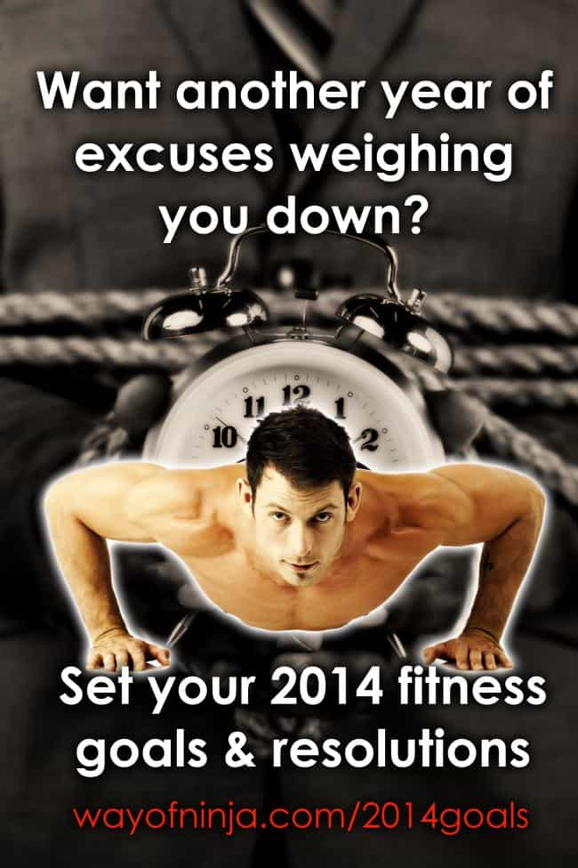 2014 Fitness Goals and Resolutions. No excuses!