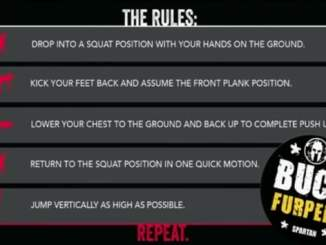 How to do a burpee, Spartan Race