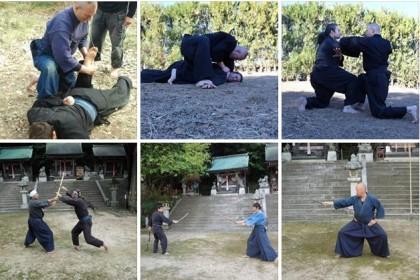 Banke Shinobiden training