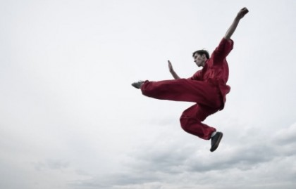 jump kick martial arts