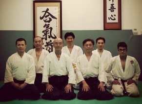 Aikido training in Taipei as a guest in 2015