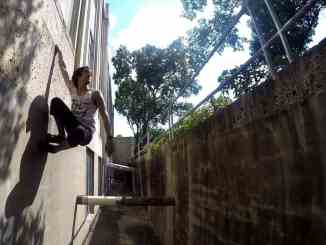Eric Olsen - Cat Hang (Parkour)