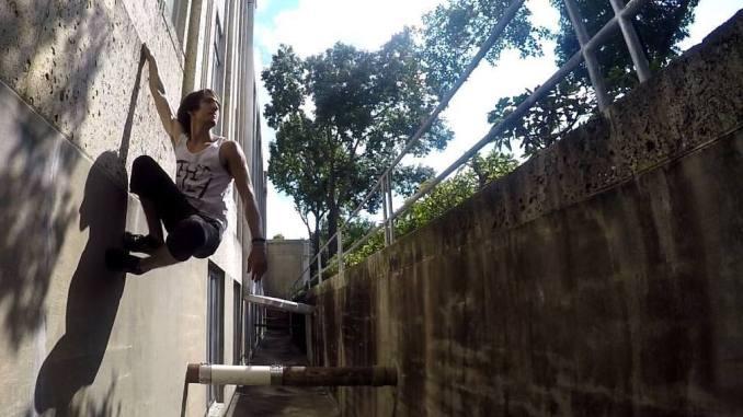 Eric Olsen - Cat Hang (Parkour)