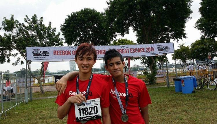 Reebok One Challenge 2014 (with my cousin)