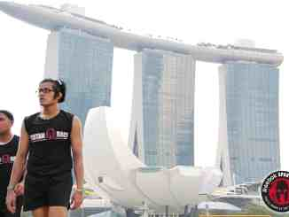 Spartan Race Singapore 2015 (a month after first injury)